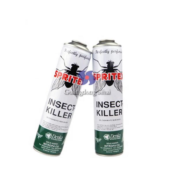 57mm empty insecticide spray can