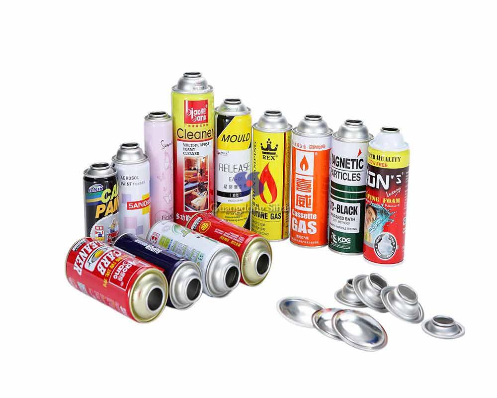 aerosol tin can components