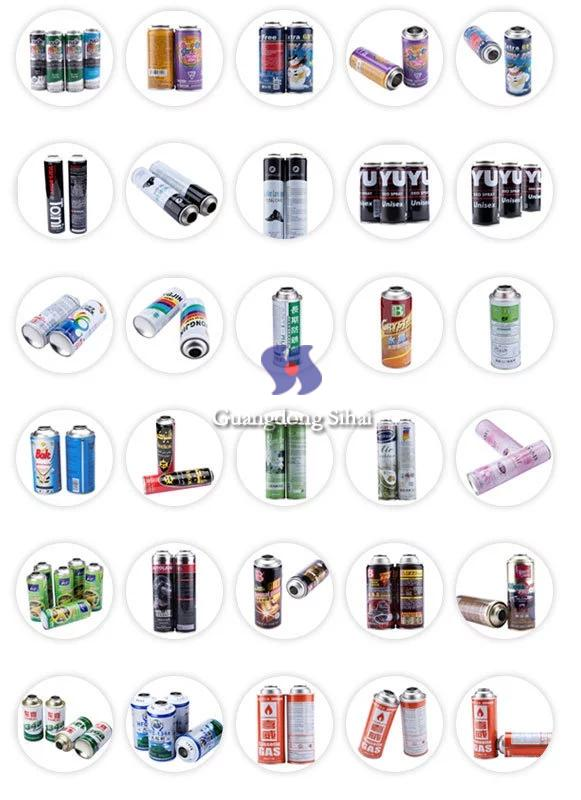 multiple usage aerosol cans