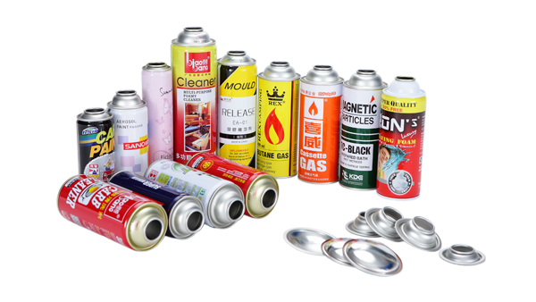 aerosol tinplate can