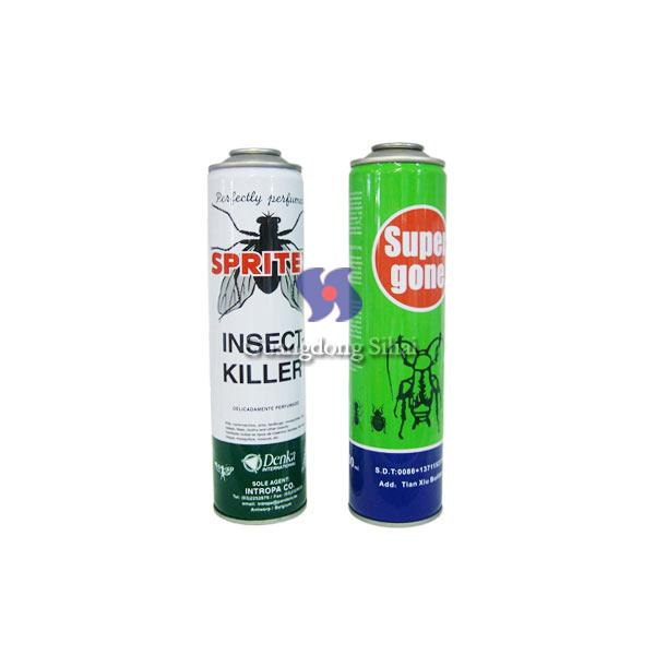 fly insecticide spray tin can