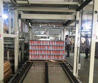 spray metal can packing upgraded