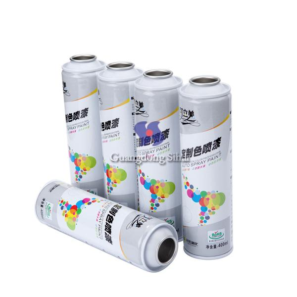 spray paint aerosol can