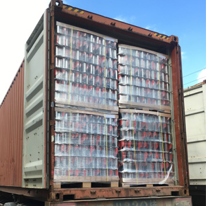 Guangdong Sihai Aerosol Can Pallet Packing