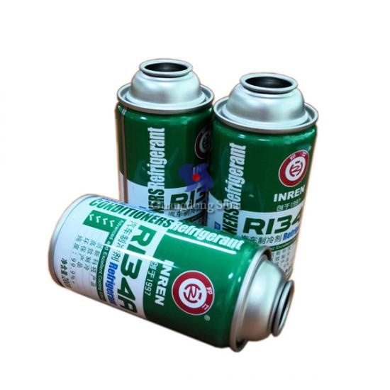 Refrigerant Tin Can