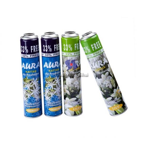 Air Freshener Aerosol Tin Cans