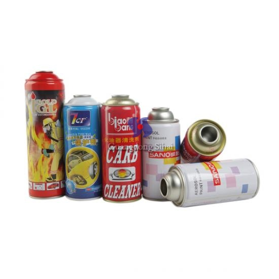 65mm aerosol tin can