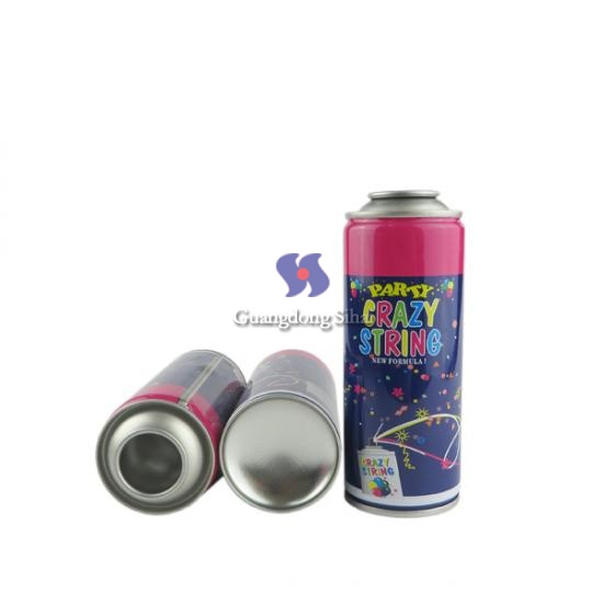 diameter 52mm party string spray can